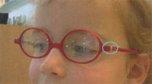 matière verre de lunette